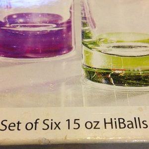 vacation Other - Set of six 15oz HighBalls